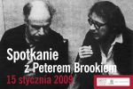 Meeting with Peter Brook